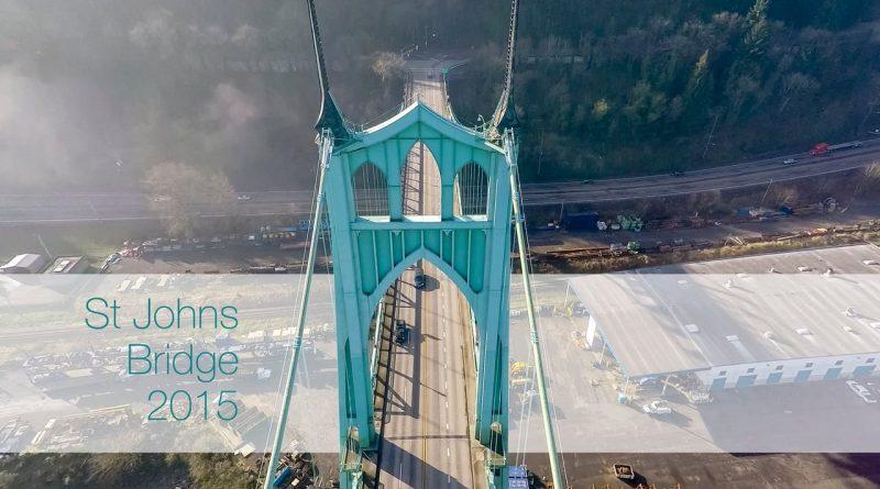 Foggy Bridge Flyby