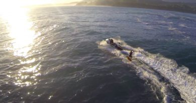 Laird Hamilton Floats On 25 Foot Waves