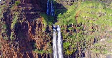 Jurassic Park Canyon + Waterfall