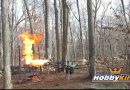 This Guy Attached a Flamethrower To His Drone and It's The Best