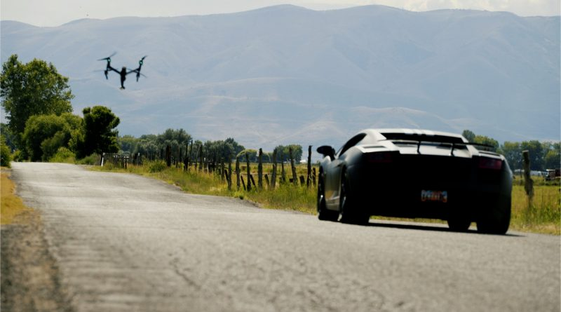 Watch This Drone Race A Lamborghini Gollardo