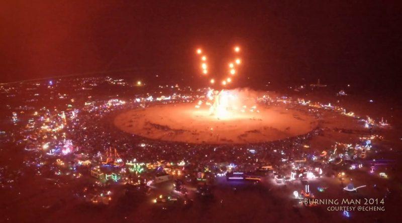 Burning Man 2014 Drone Footage
