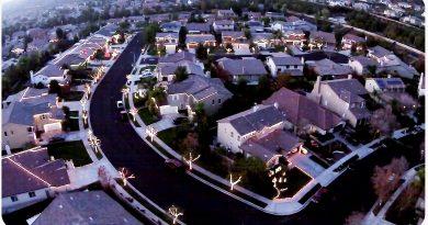 Jingle Bells…Phantom3 Style – Drone Footage of Christmas Lights